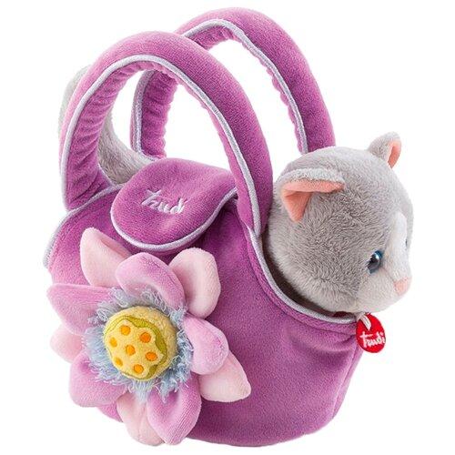 Мягкая игрушка Trudi Котёнок в сумочке 20 см мягкая игрушка trudi котёнок брэд