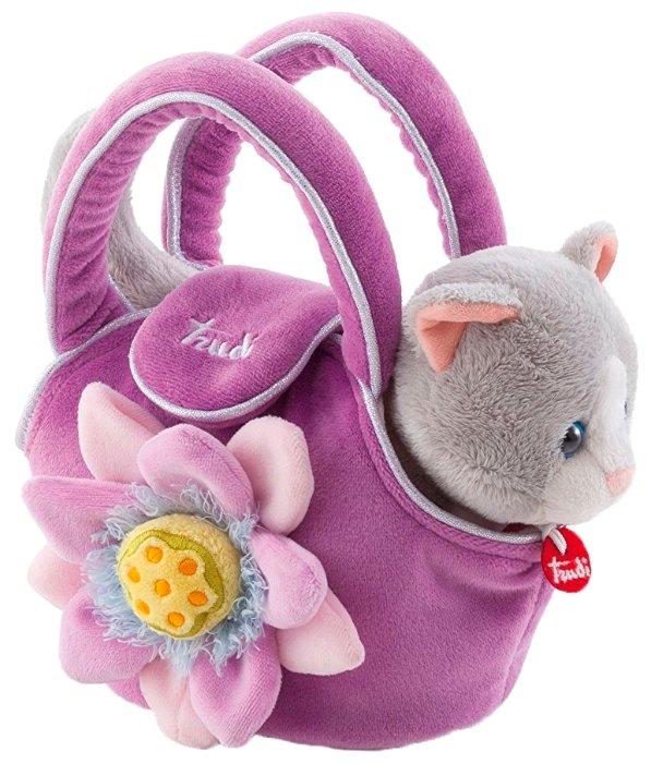 Мягкая игрушка Trudi Котёнок в сумочке 20 см