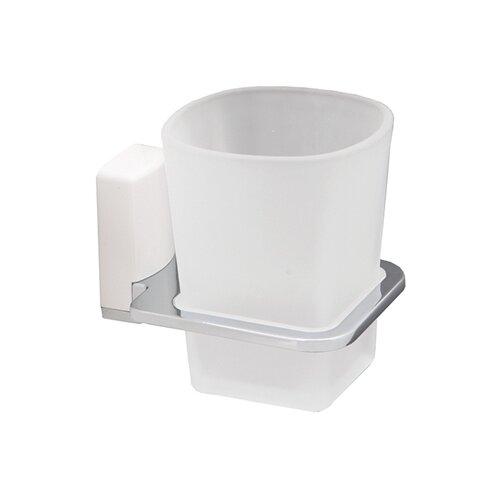 Стакан для зубных щеток WasserKRAFT Leine K-5028 белый