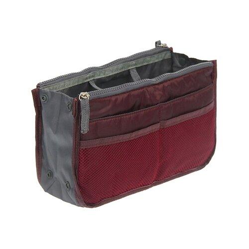Органайзер для сумки HOMSU 29 х 9 х 16, бордовый органайзер для хранения вещей homsu scandinavia 18 секций 31 х 24 х 11 см