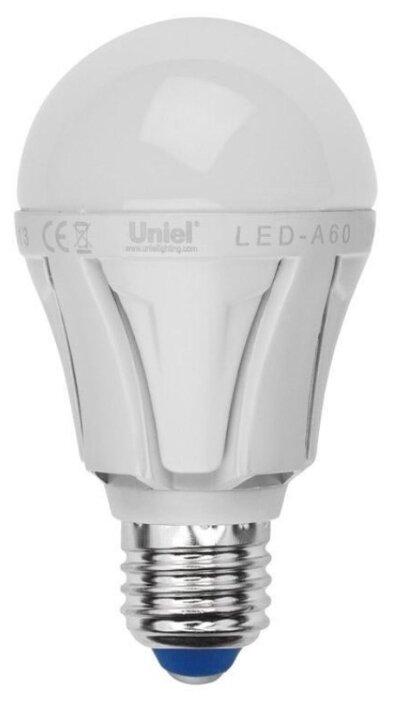 Лампа светодиодная Uniel E14 6W (500lm 360°) 3000K, нитевидная, прозрачная, 35x128, LED-CW35-6W/WW/E14/CL