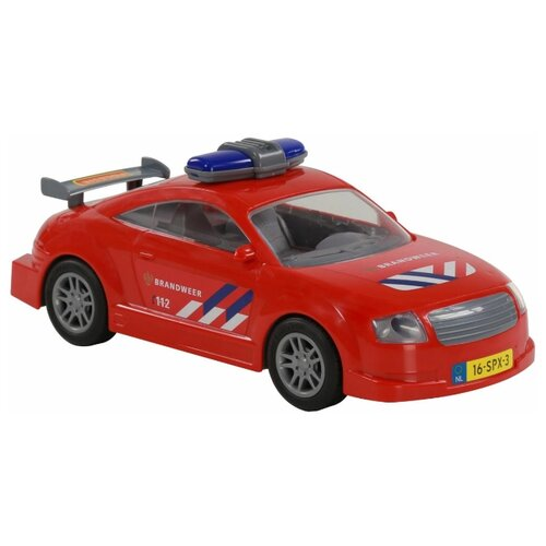 Купить Легковой автомобиль Полесье 71286 26.8 см красный, Машинки и техника
