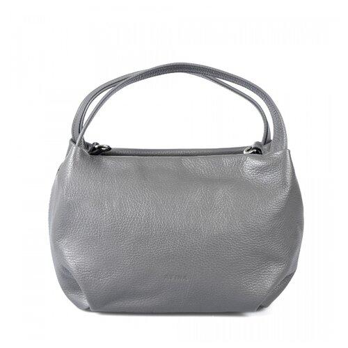 Сумка Afina 427, натуральная кожа, графит сумка afina afina af004bwepfz7