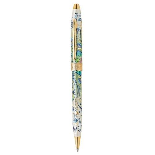 CROSS Шариковая ручка Botanica, M, черный цвет чернил