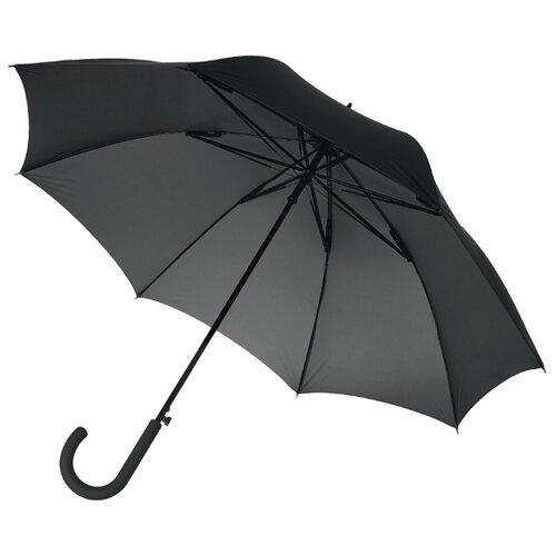 Фото - Зонт-трость полуавтомат Unit Wind (2392) черный зонт трость полуавтомат три слона 1100 бордовый
