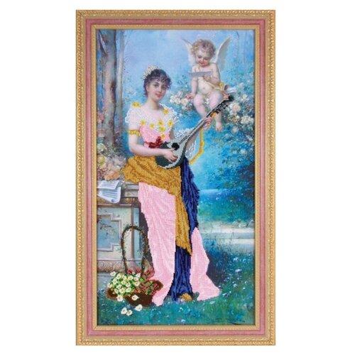 Фото - Ажур Набор для вышивания бисером Райская соната 65 х 35 см (Б-0031) ажур набор для вышивания крестиком цветущий кактус 26 х 17 см 0010