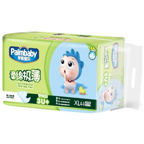 Купить Palmbaby подгузники Ультратонкие XL (12+ кг), 44 шт., Подгузники