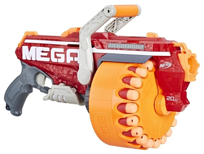 Бластер Nerf Мега Мегалодон (E4217)