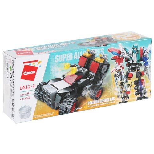 Конструктор Qman Creative Master 1412-2 Super Alloy Ares