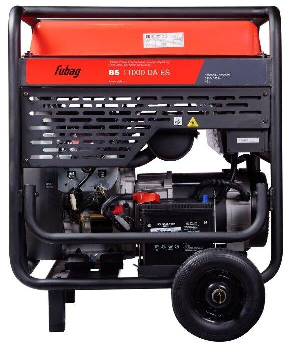 Бензиновый генератор Fubag BS 11000 DA ES (10000 Вт)