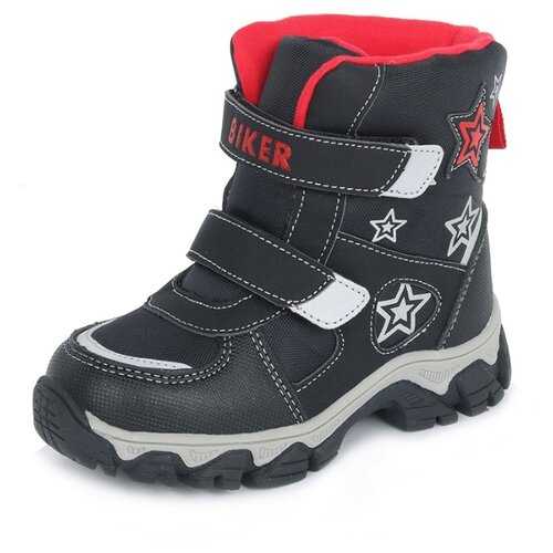 Ботинки Biker размер 28, черный ботинки tapiboo размер 30 черный