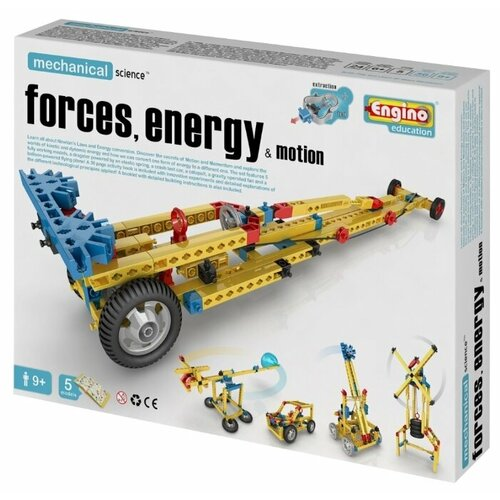Купить Конструктор ENGINO Mechanical Science M11 Силы, энергия и движение, Конструкторы