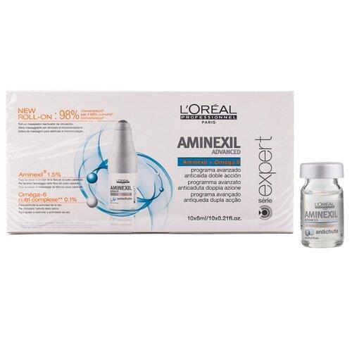 L'Oreal Professionnel Aminexil Advanced Профессиональное средство против выпадения волос, 6 мл, 10 шт. профессиональное средство от выпадения волос у женщин