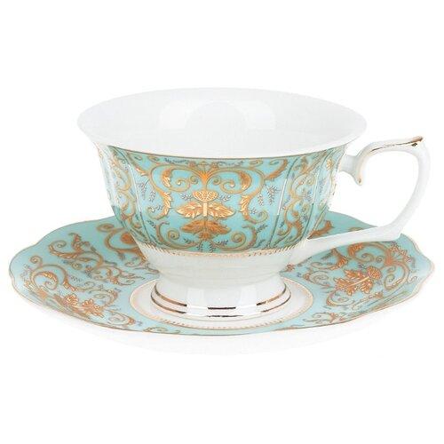 """Best Home Porcelain Чайная пара """"Valencia"""" 220 мл (подарочная упаковка)"""
