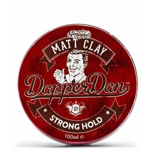 Dapper Dan Глина Matt Clay, сильная фиксация, 100 мл steely dan steely dan katy lied