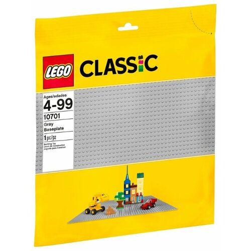 Конструктор LEGO Classic 10701 Серая плата