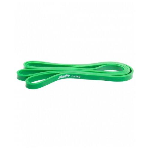 Эспандер лента Starfit ES-801 (2-15кг) 208 х 1.3 см зеленый эспандер star fit многофункциональный es 602 6 х 9 х 1400 желтый