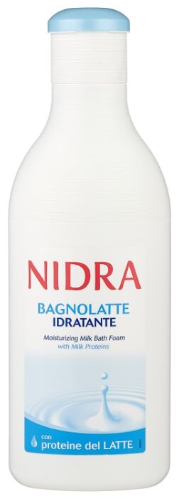 Nidra Пена молочко для ванны с молочными