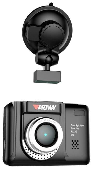 Видеорегистратор с радар-детектором Artway MD-106 COMBO 3 в 1 Super Fast