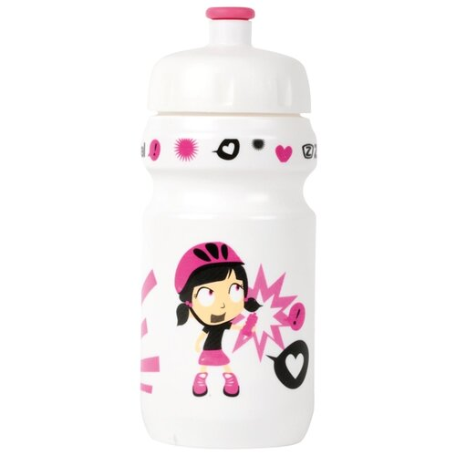 Фляга Zefal Little Z - Z-Girl белый/розовый 350 мл ручной насос zefal rev 88 черный