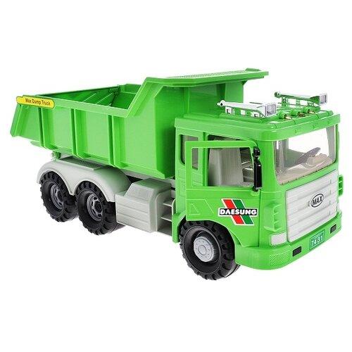 Грузовик Daesung Toys Max (953-1), 33 см, зеленый