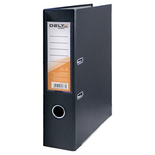 Купить Delta by Axent Папка-регистратор A4 с односторонним покрытием, 7, 5cм черный, Файлы и папки