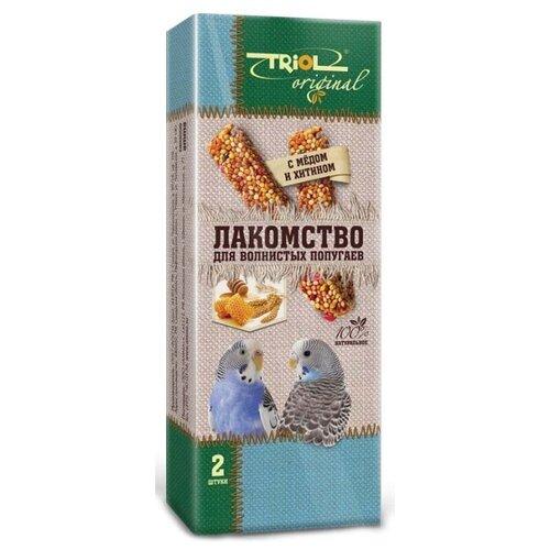 Лакомство для птиц Triol Original с мёдом и хитином