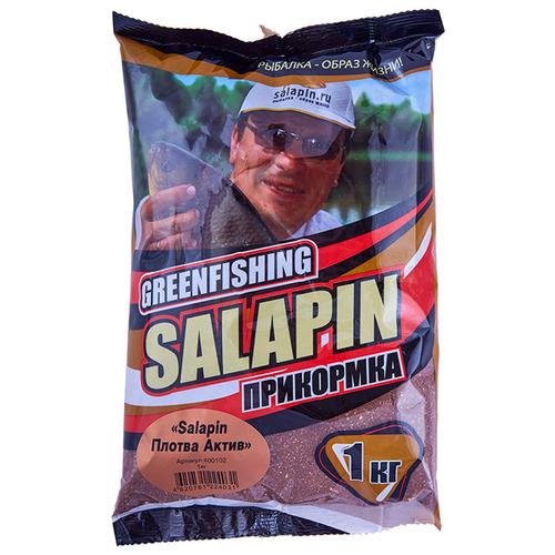 Прикормочная смесь Salapin Плотва Актив специи 1000 г