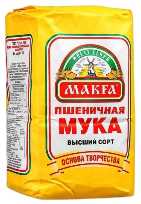 Мука Макфа Пшеничная высший сорт