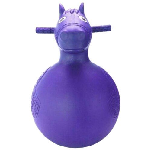 Мяч-попрыгун BRADEX Веселая Лошадка фиолетовый