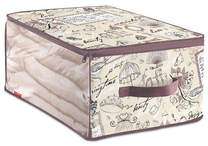 Купить Valiant Кофр для хранения малый CB-S Romantic по низкой цене с доставкой из Яндекс.Маркета (бывший Беру)
