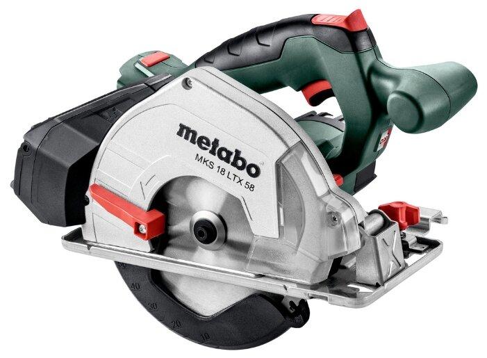 Дисковая пила Metabo MKS 18 LTX 58 0 Metaloc