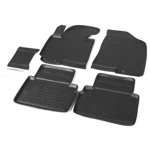 Комплект ковриков RIVAL 12805001 Kia Sportage 5 шт. черный