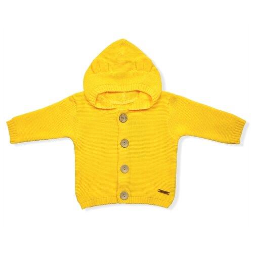 Купить Жакет LEO размер 86, желтый, Джемперы и толстовки