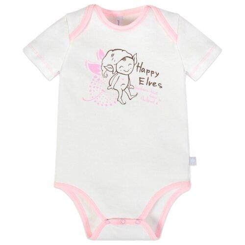 Купить Боди Мамуляндия размер 68, молочный/розовый