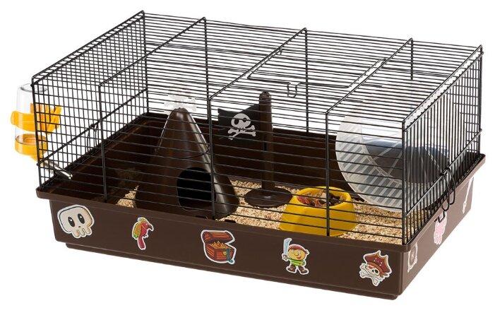Клетка для грызунов Ferplast Criceti 9 Pirates 46х29.5х23 см