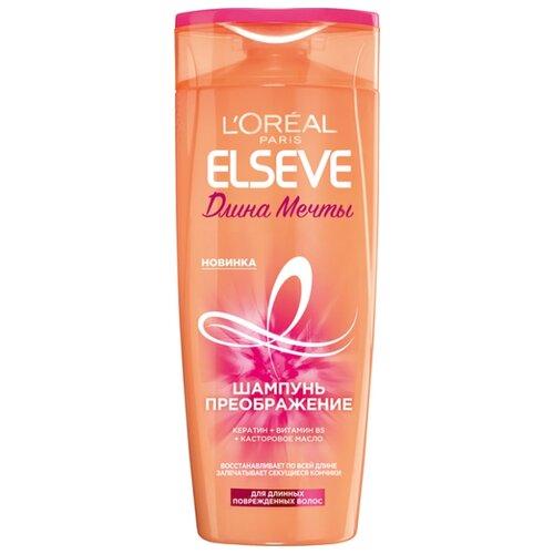 Купить Elseve шампунь-преображение Длина Мечты для длинных поврежденных волос 400 мл