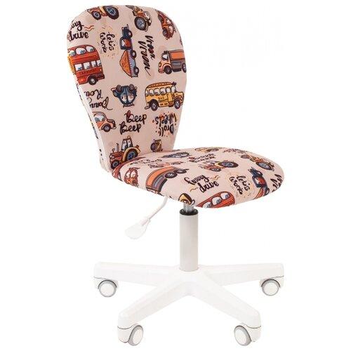 Компьютерное кресло Chairman Kids 105 детское, обивка: текстиль, цвет: автобус кресло chairman kids 105 ткань нло