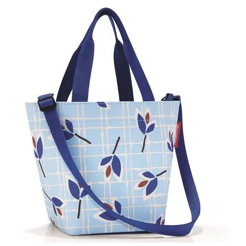 цена на Сумка reisenthel Shopper XS ZR4064 leaves blue, текстиль