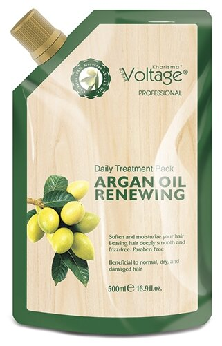 Kharisma Voltage Маска для волос восстанавливающая с маслом арганы