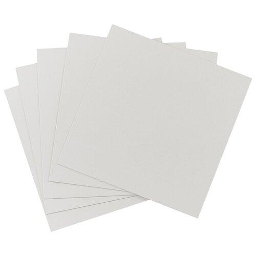 Купить Белый картон крашенный в массе 1, 1 мм, 680 гр/м2 Decoriton, 20х30 см, 5 л., Цветная бумага и картон