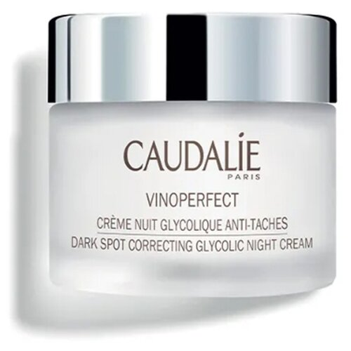 Caudalie Vinoperfect Ночной крем для лица для сияния кожи с гликолевой кислотой, 50 мл вода для красоты лица caudalie цена