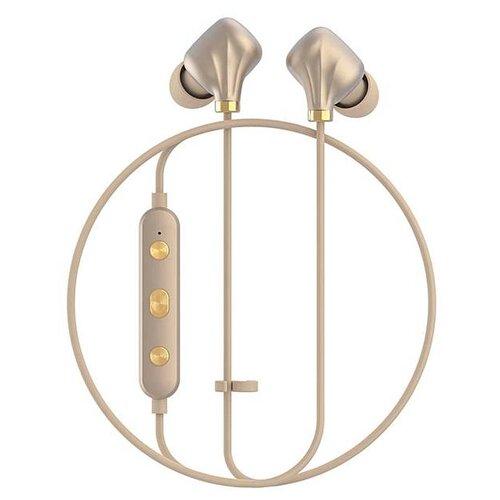 Купить Беспроводные наушники Happy Plugs Ear Piece II matte gold