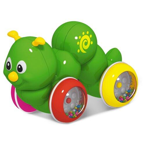 Каталка-игрушка Stellar Гусеница (01393) зеленый