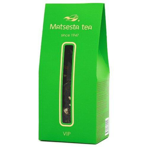 Чай зелёный Мацеста VIP с цветками и бутонами жасмина, 75 г чай мате зелёный 50 г