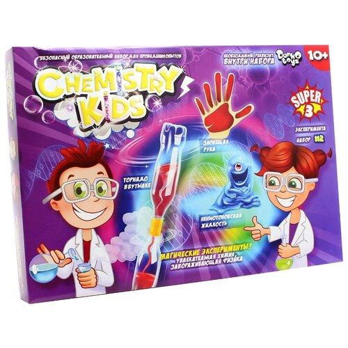 Купить Набор Danko Toys Chemistry Kids Магические эксперименты Набор 2, 3 опыта, Наборы для исследований