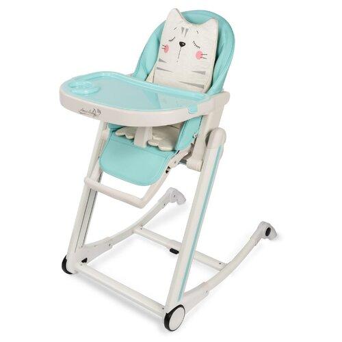 Стульчик для кормления Amarobaby Rocking Baby мятный стульчик для кормления babys piggy розовый
