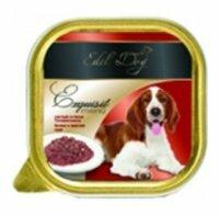 Корм для собак Edel Dog Теленок в томатном соусе (0.15 кг) 1 шт.