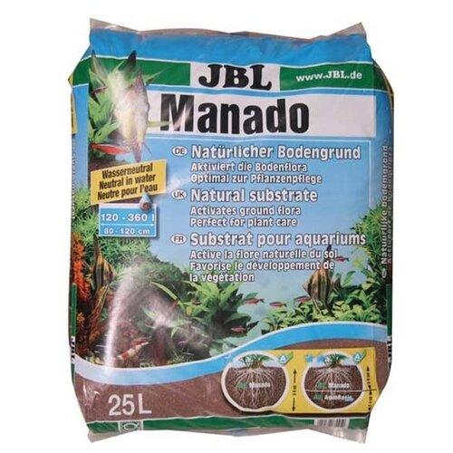 Грунт JBL Manado 25 л, 17 кг коричневый