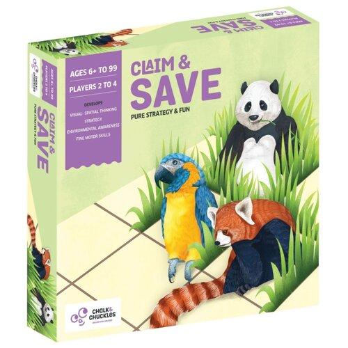 Настольная игра Chalk & Chuckles Claim & Save